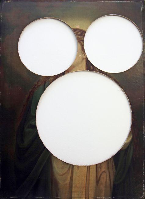 Hermann Glettler - Without, 2011 - Bedruckter Karton, 100 x 72 cm
