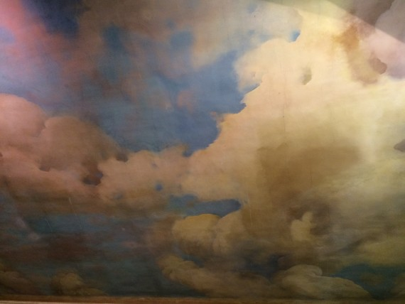 målade moln
